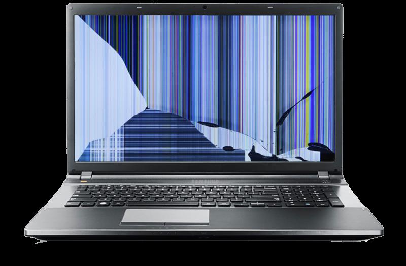 notebook-Display-defekt